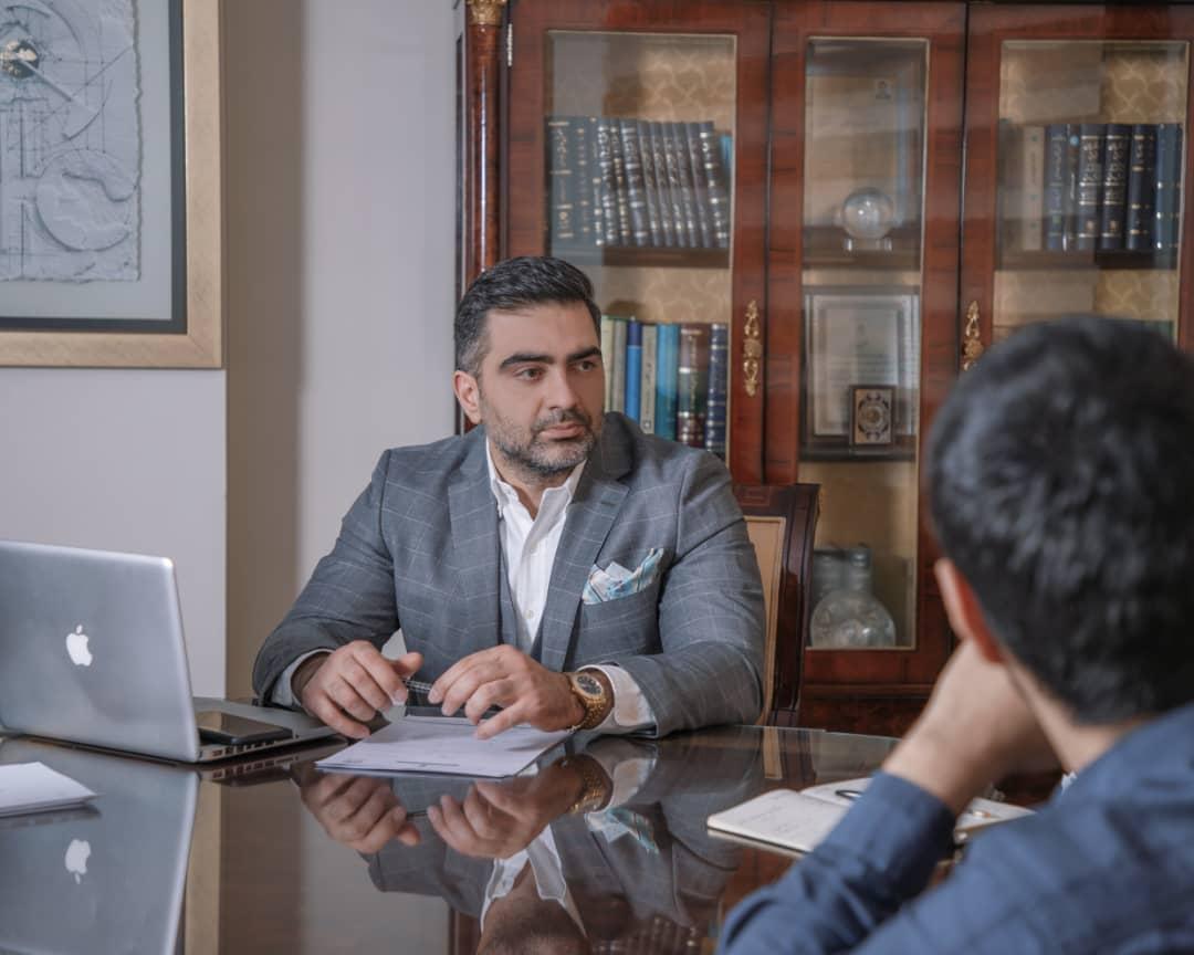 سید امیر حسین بحرینی کاندیدای کانون وکلای مرکز   انتخابات هیات مدیره کانون وکلای مرکز