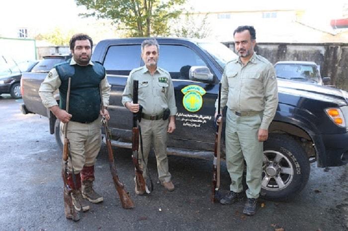 مأموران یگان حفاظت محیط زیست